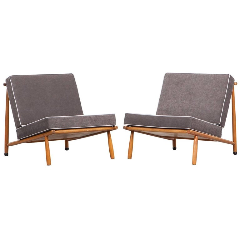 Pair of Alf Svensson Lounge Chairs