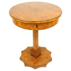 Biedermeier Style Gueridon or Side Table