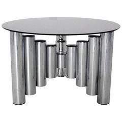 Chromed Manhattan Coffee Table, 1960s