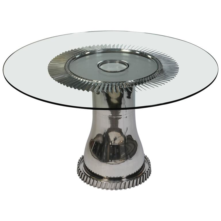 Aviation Furniture Dining Table Mirage III Element By Jean Pierre  Carpentier 1