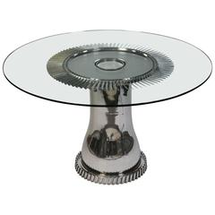 Aviation Furniture Dining Table Mirage III Element by Jean-Pierre Carpentier