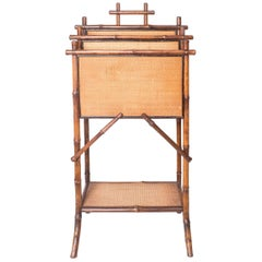 Bamboo Magazine Stand: French or English