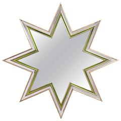 """Eight-Pointed Star """"Etoile"""" Mirror by Maxime Old"""