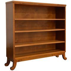 Karl Johan Biedermeier Revival Open Bookcase Shelves