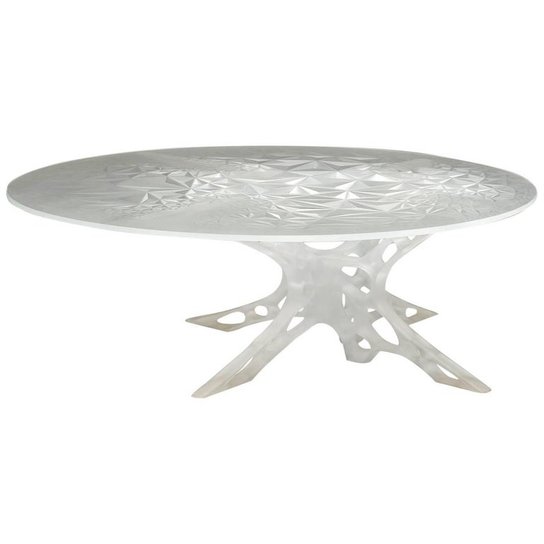 Contemporary Chimeric Table in Acrylic For Sale