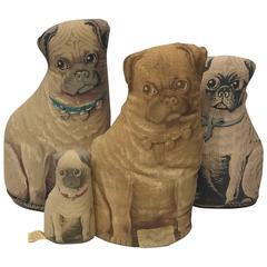 Duke and Duchess of Windsor's Pug Pillows