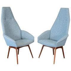 Pair of Adrian Pearsall 2153-C Armchairs
