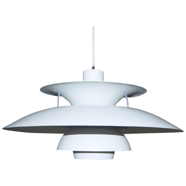 1958, Poul Henningsen for Louis Poulsen, PH5 Pendant Light For Sale
