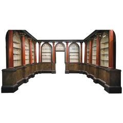 Extraordinary Pharmacy Furniture, 18th Century