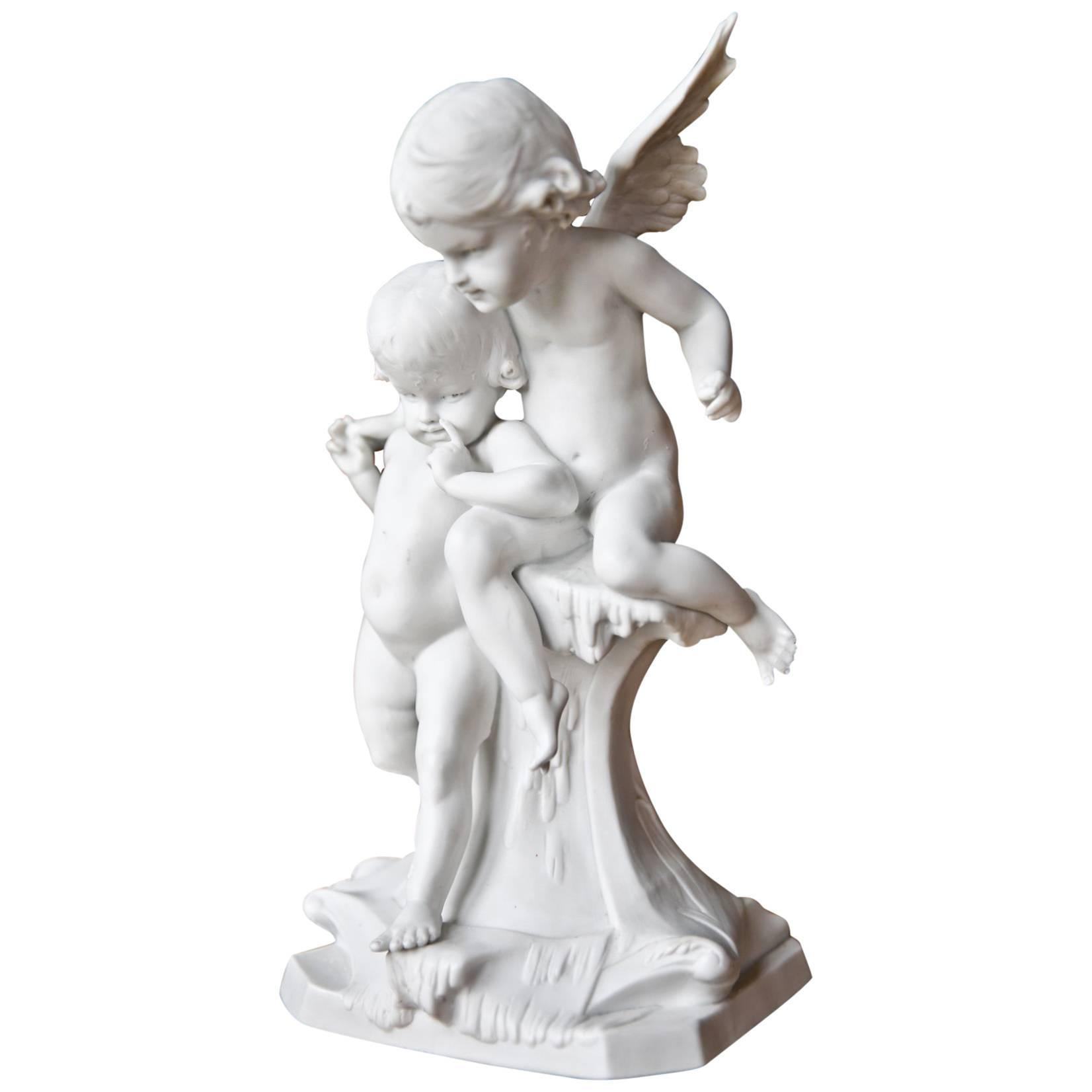 19th Century Biscuit Porcelain by Edouard Drouot