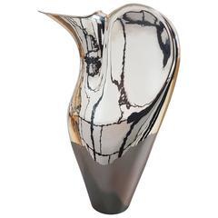20th Century Italian Modern Silver Jug  fully handmade. Made i Italy
