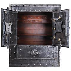 1824 Italian Antique Safe