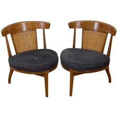 Pair of Drexel Heritage Cane Back Chairs
