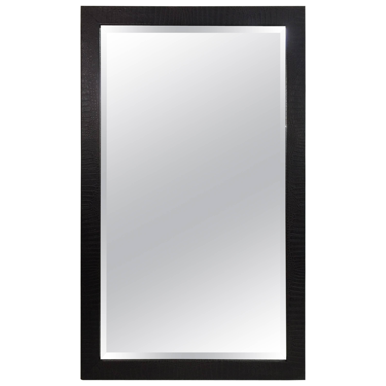 Huge Pair Of Aviator Glasses Wall Mirror In Chromed Frame