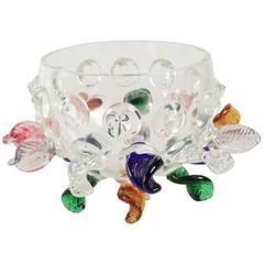 Beautiful Blown Glass Bowl by Borek Sipek, Isotta, 20th Century