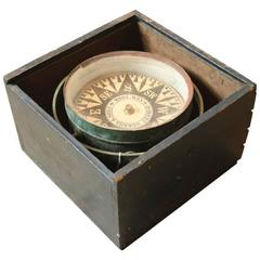 19th Century Compass by Robert Merrill