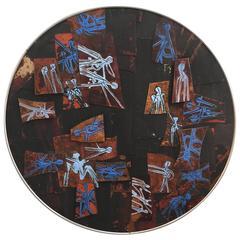 Richard Maris Loving Modernist Enamel, 1964