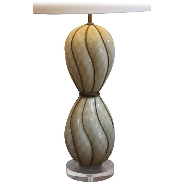 Marbro Venetian Glass Lamp 1
