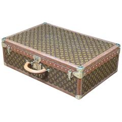 1950s Louis Vuitton Monogram Suitcase