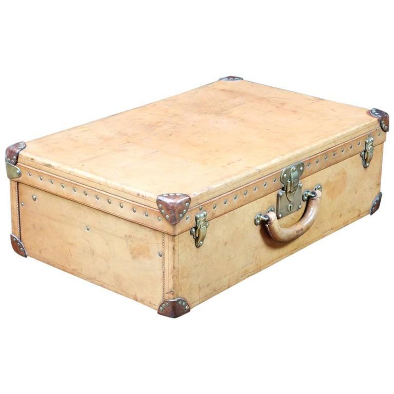 1930 Louis Vuitton Leather Suitcase