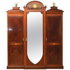 Gillows Mahogany and Inlaid Bedroom Set