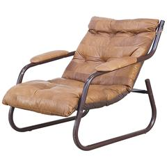 Lounge chair and ottoman midcentury modern 50s 60s at 1stdibs for Fauteuil patchwork eames