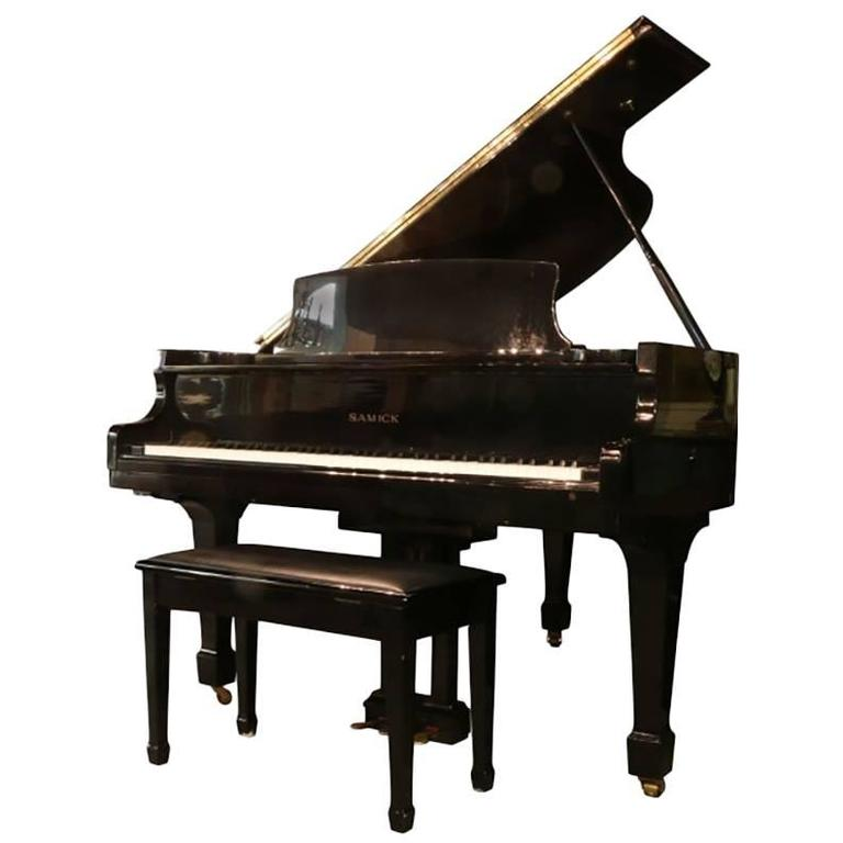 Samick Baby Grand Piano, Model # SG-172 For Sale