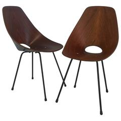 Pair of Vittorio Nobili Medea Chairs