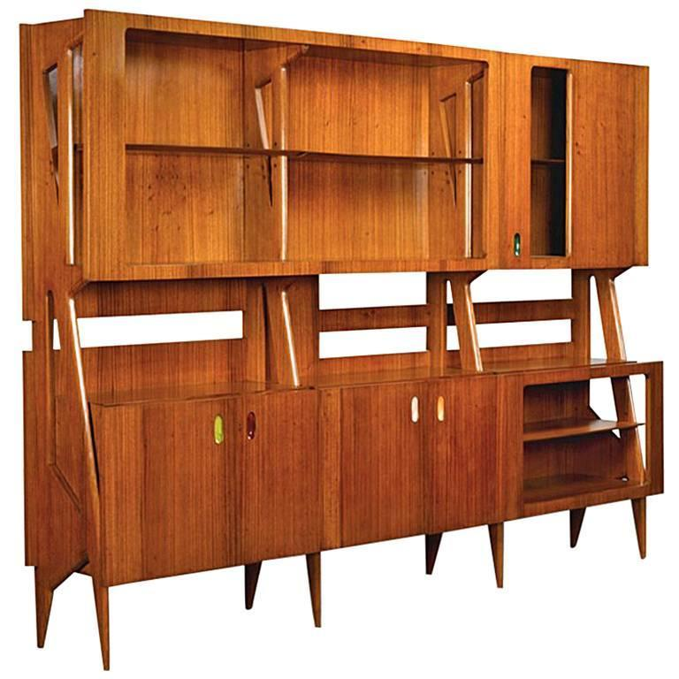 Ico Parisi Monumental Bookcase from 1950s