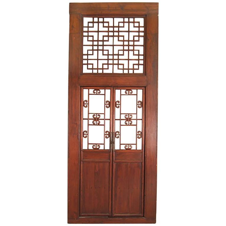Chinese Lattice Doorway