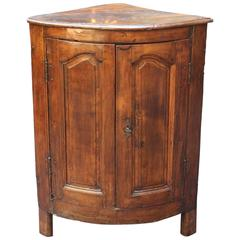 Antique French 19th Century Encoignure 'Corner Cabinet'