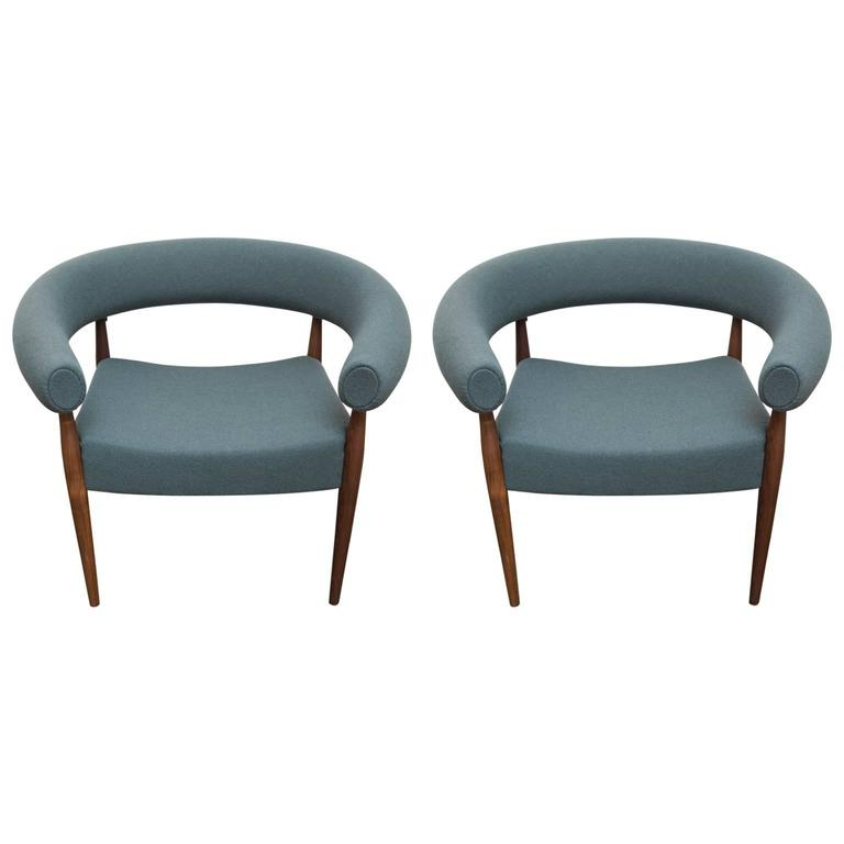 Charmant Nanna Ditzel Ring Chair For Sale