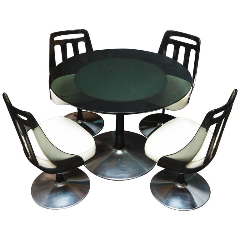 Vintage Lucite And Chrome Dinette Set By Soveriegn At 1stdibs
