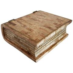 Maitland Smith Tesselated Stone Book Box