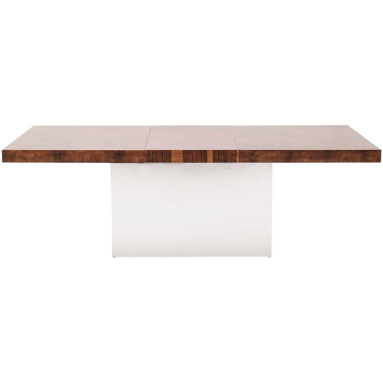 Milo Baughman Dining Table For Sale