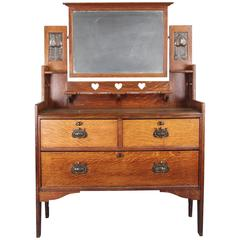Turn of the Century Arts and Crafts Dresser with Original Mirror