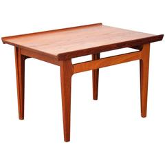 Finn Juhl for France and Daverkosen Model 535 Teak Side Table