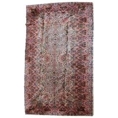 Vintage Karastan Kirman All-Over Floral Rug, circa 1950