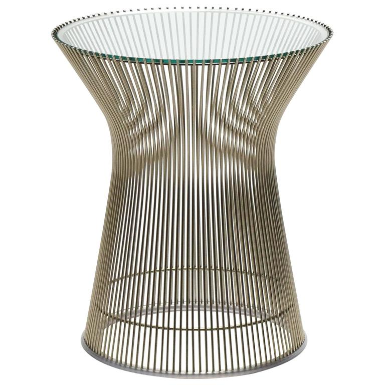 Warren Platner Side Table by Knoll 1