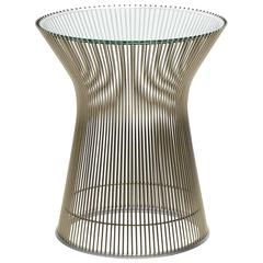 Superior Warren Platner Side Table By Knoll