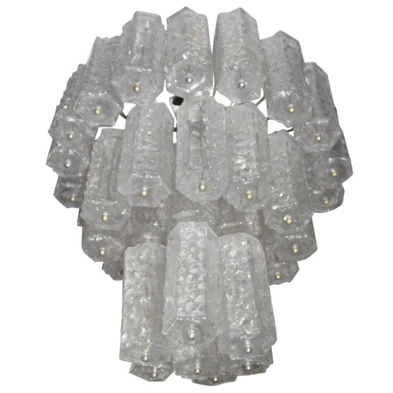 Murano Art Glass Italian Design, Venini, 1960s For Sale