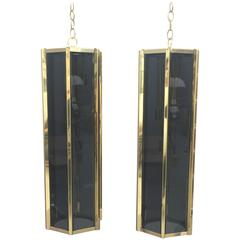 Pair of Stunning Pendant by Fredrick Ramond
