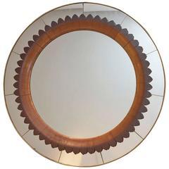 Fratelli Marelli  1940 Wall Mirror