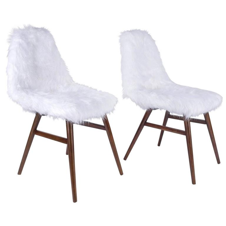 Pair of Erika Chairs from Judit Burian For Sale