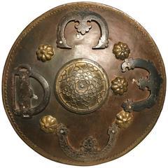 Ottoman Iron and Brass Miniature Shield