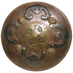 Ottoman Iron ad Brass Miniature Battle Shield