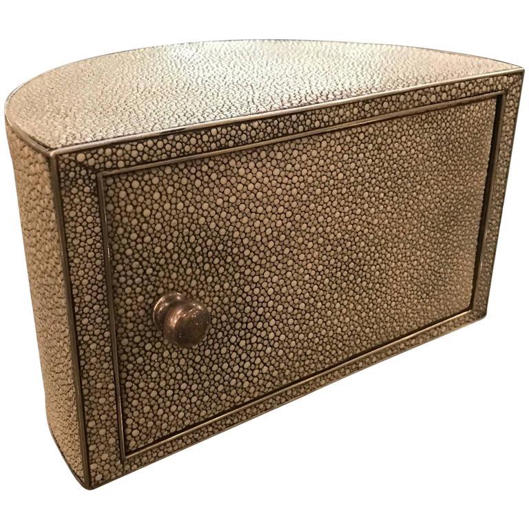 1920s Mark Cross London Reen Desk Box Organizer For