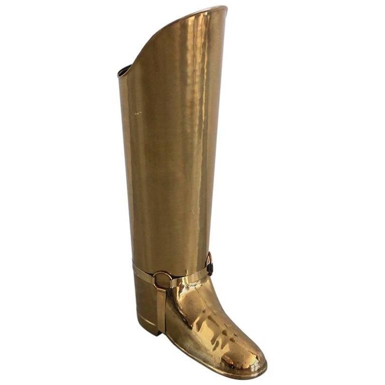Belgian Brass Umbrella Boot 1