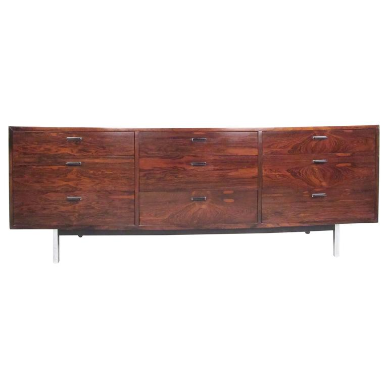 Rosewood Nine-Drawer Dresser by Founders