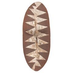 20th Century Tutsi Tribal Ceremonial Dance Shield, Rwanda, Africa